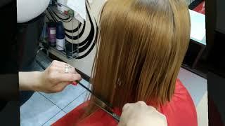 ПО НОВОМУ Женская стрижка на короткие волосы Виктория Феденко салон красоты La Familia Бровары