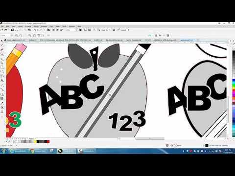 Corel Draw Tips & Tricks Clipart Teacher Apple