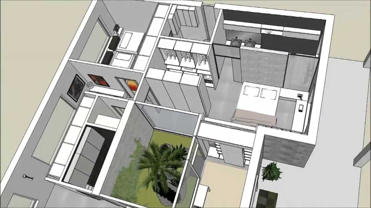 Langolo home living progetto interno villa youtube for Progetti case interni