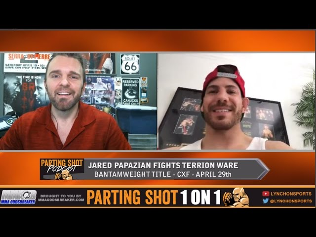 "UFC vet Jared Papazian on Apr. 29th fight ""I'm better than Terrion Ware everywhere"""