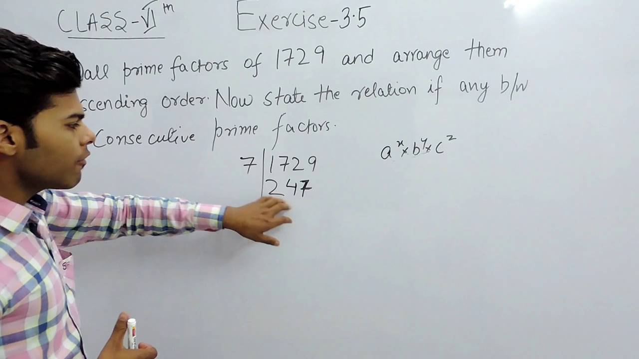 Exercise 3.5 Question 6 - Playing with Numbers NCERT/CBSE Solutions ...
