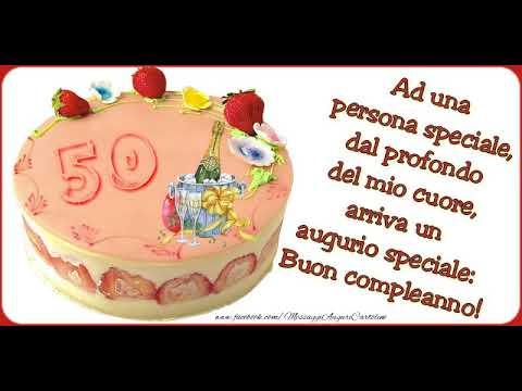 Cartoline Animate E Musicali Buon Compleanno 50 Anni Youtube