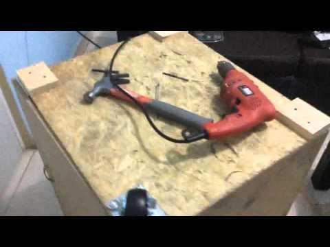 Como hacer una caja de madera para herramientas de carpinter a electricidad o generales youtube - Hacer una caja de madera ...