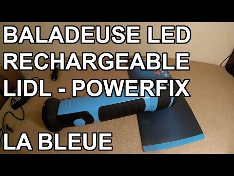 Lidl Bleue Led Powerfix Youtube OutilsBaladeuse Rechargeable shxrQdCBt