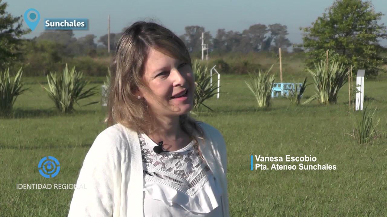 Nota Ateneo Sunchales, Vanesa Escobio