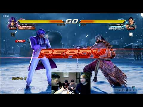 T7FR 11/16/2017 - Super Akouma [FRANCE][AKUMA] vs Korea Online Ranked/Anakin