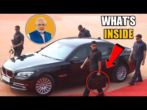 What Is Inside The Briefcase Of Prime Minister's Bodyguards? Prime Minister's Bodyguard Briefcase