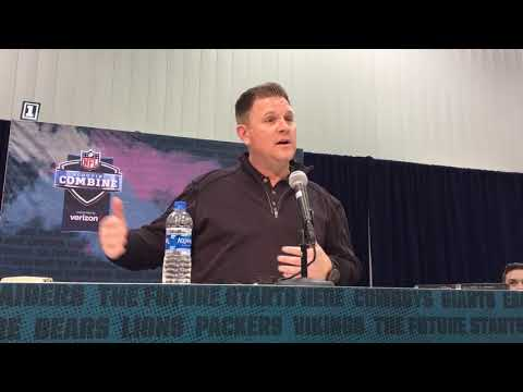 Packers - Brian Gutekunst talks about NFL Combine and free agency