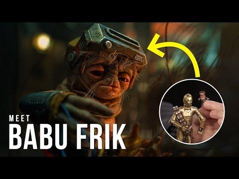 Babu Frik New Alien Droidsmith Revealed For Star Wars Episode 9 The Rise Of Skywalker Youtube