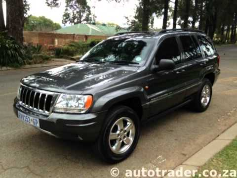 2004 JEEP GRAND CHEROKEE 2.7 CRD H.O. Black Pearl Series (limited Edition) Auto For Sale On Auto Tra