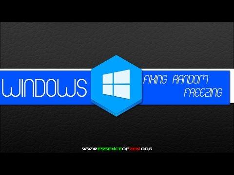 Fixing Windows 8.1 from Freezing