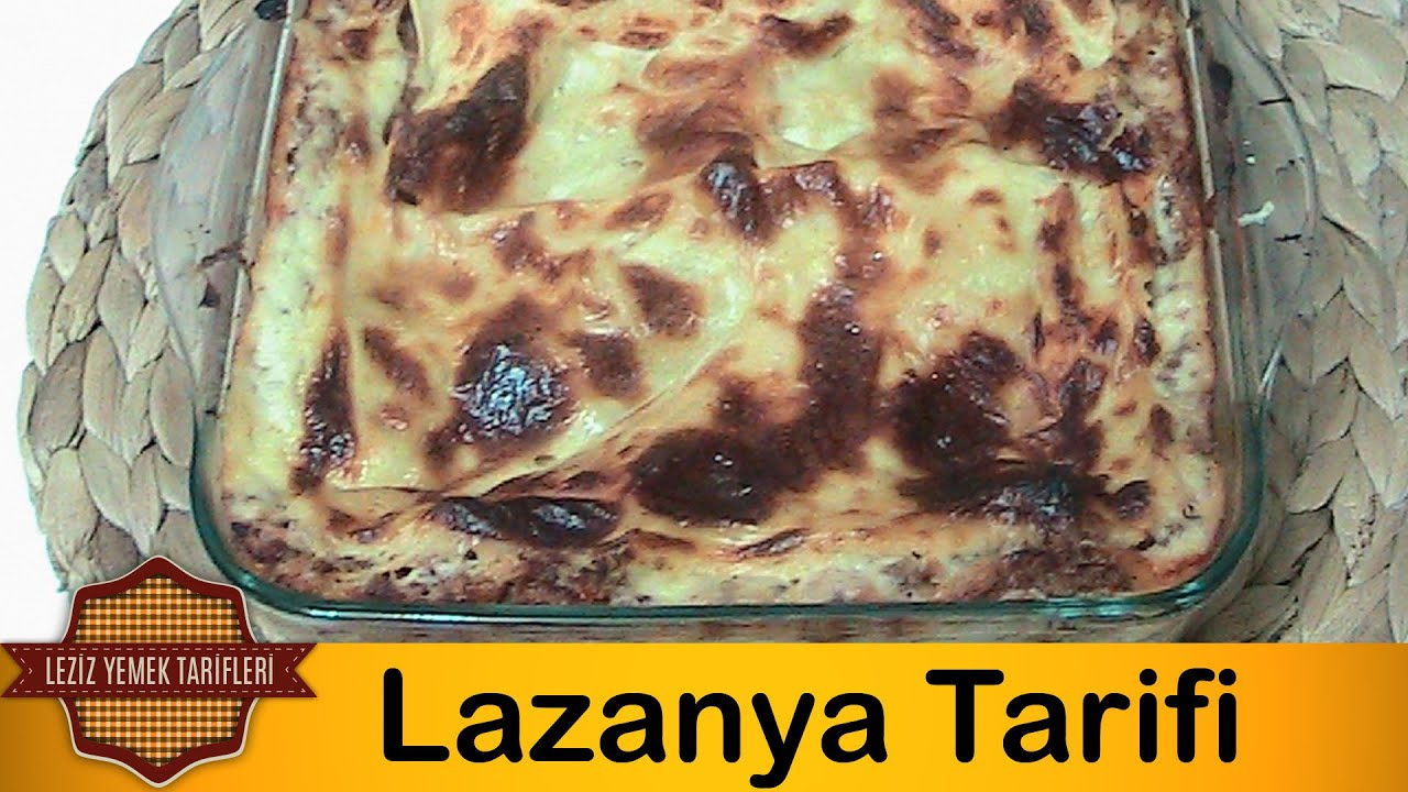 Kıymalı Lazanya Nasıl Yapılır Videosu