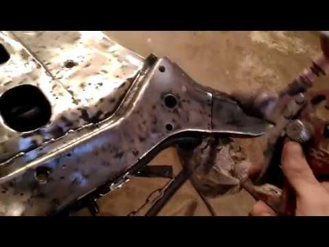 Качественный ремонт кузова Классики. Жигули 2106.Перед. часть 2.