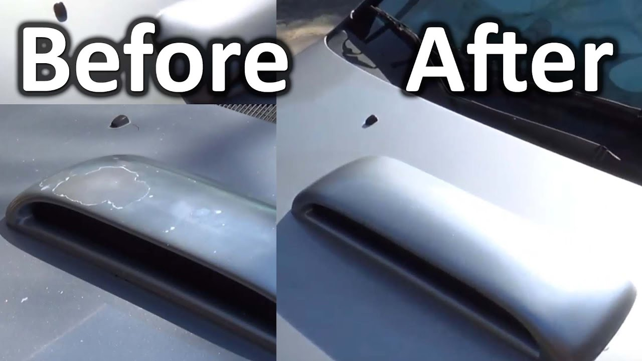 How To Restore Faded Paint Youtube