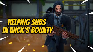 Fortnite Battle Royale - WICK'S BOUNTY -JOHN WICK SKIN !!! - 925+ Total Wins - ENGLISH STREAMER