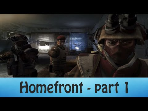 Let's Play Homefront | Part 1 | North Korean Invasion