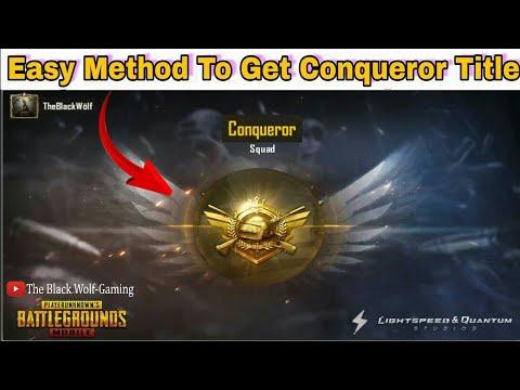 Pubg Mobile Conqueror Avatar Picture Hd Premium Android