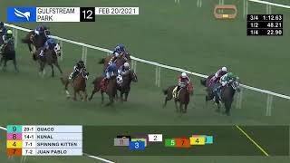 Vidéo de la course PMU CLAIMING 1700M