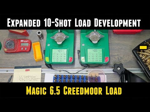 Expanded 10 Shot Load Development for 6.5 Creedmoor