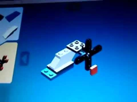 how to make a lego helicopter easy