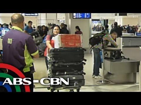 Bandila: OFWs inireklamo ang umano'y nakawan ng mga bagahe