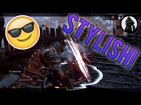 That's a TRUELY stylish Orochi finisher on a High Level Warden! Orochi Duels Ep.#124 [For Honor]