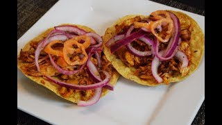 Receta de Pollo Pibil, super facil, receta Mexicana!