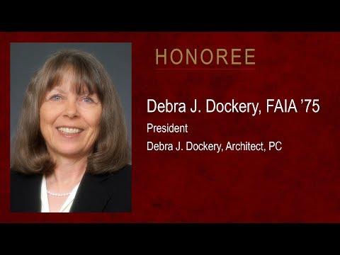 Debra Dockery - 2017 Outstanding Alumni, Texas A&M University College of Architecture