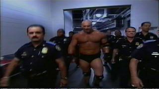 Explosive Goldberg entrance (Atlanta)