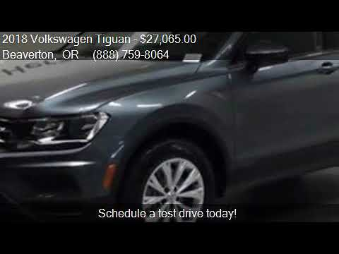 2018 Volkswagen Tiguan 2.0T S 4Motion AWD 4dr SUV for sale i