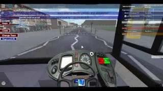 Roblox North London bus Simulator Enviro 400H City Demonstrator Arriva London Using Route 329 Test