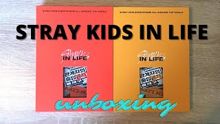 Stray Kids 'IN生/ IN LIFE' Unboxing (A & B ver.)