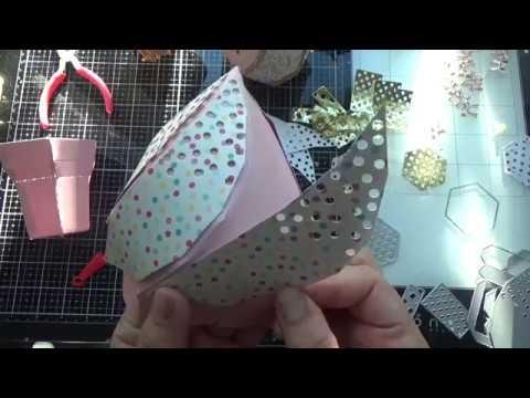 KSCRAFT Ice Cream cone Die Tutorial