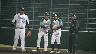 山崎貴之 選手 2018/04/11【猛打賞3安打目】vs群馬at小山(栃木ゴールデンブレーブス)