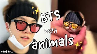 BTS WITH ANIMALS