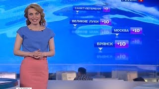 "Дарья Сметанина - ""Вести. Погода"" (11.04.14)"