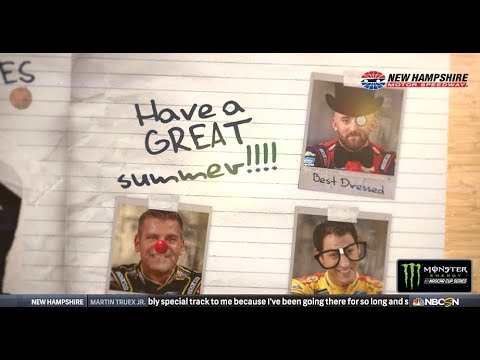 NASCAR Drivers Hand Out Superlatives: Class Clown, Best Dressed And More