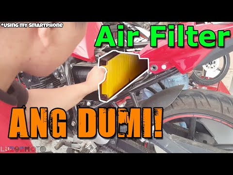 When And How To Clean The Air Filter Element | Yamaha FZi 2018