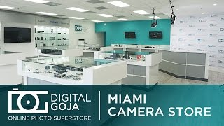 Miami Camera Store | DIGITAL GOJA Camera & Photo Superstore | Video