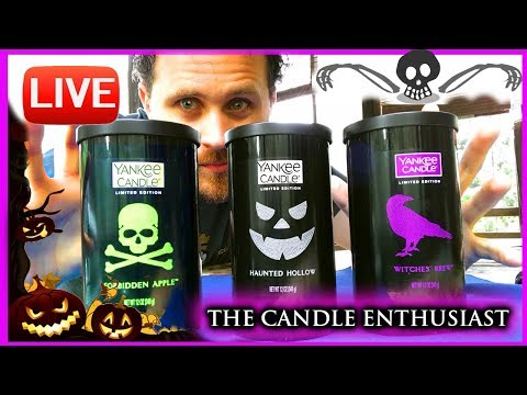 LIVE - Yankee Candle HALLOWEEN Surprises - Rarities - & Vlogust!!
