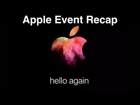 Apple's 'hello again' Event Recap