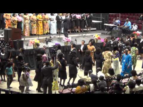 2014 NORTH AMERICA GHANAIAN S.D.A CAMP MEETING-NEW YORK ZONE CHOIR