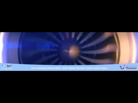 Thomson Dreamliner 787 Animations 1