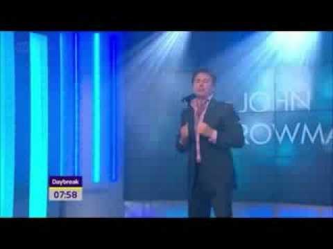 John Barrowman - Can't Take My Eyes Off You (ITV Daybreak Live Performance - Sep. 5th, 2011) music