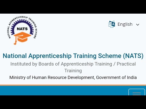 NATS Registration | Official National apprenticeship training scheme | Enrollment id |
