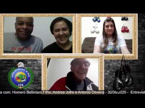 Entrevista: Homero Bellintani Filho, Andrea Jofre e Antonio Oliveira