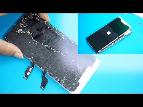 How to clean glue OLED iphone Xs max