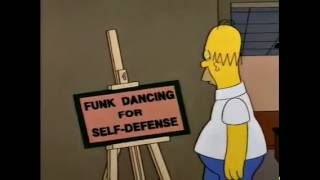 The Simpsons - Moe Teaches Breakdance!