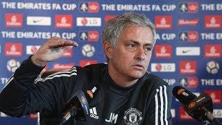 Jose Mourinho Press Conference Manchester United v Brighton & Hove Albion.
