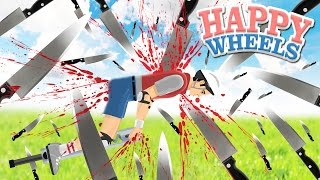 pogo contra los 1000 cuchillos   happy wheels 133